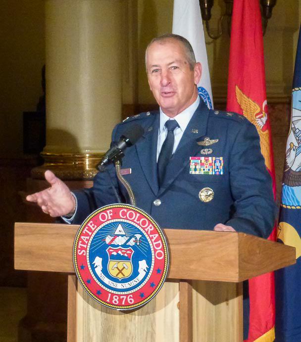 Maj Gen Edwards, Colorado Adjutant General
