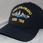 Ballcap, Silver Dolphins - $17